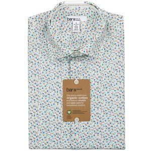 Bar III Organic Cotton Button Down Shirt NWT